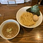 煮干しそば 虎空 - 味玉濃厚ニボつけ麺 960円