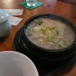 韓国食堂 カンスニ - ハーフサムゲタン
