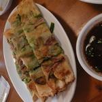 韓国食堂 カンスニ - 激辛青唐辛子チヂミ