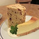 ホメリ - ケーキ2種盛り