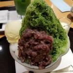京・茶房 TSURU - 宇治しぐれ。