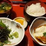 魚眞 - ゴマサバ定食!