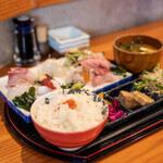 魚 上松 - 料理写真:お刺身御膳