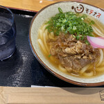 134950737 - 肉うどん550円