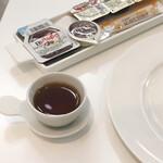 スノービーンズコーヒー - 食前のサービスコーヒー