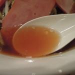 13496276 - チャーシューメンのスープ