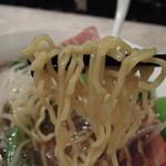 13496277 - チャーシューメンの麺