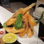 海鮮料理 魚盛 - ふぐの唐揚げ