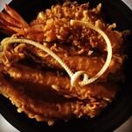 北の杜 市 - 海老穴子天丼1700円