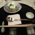 13497415 - 前菜の胡麻豆腐が出たお膳