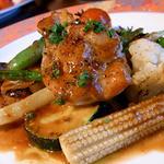 アルピーヌ - みつせ鶏と旬野菜の炭火焼き