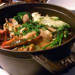 アルピーヌ - カナダ産オマール海老と魚介のブイヤベース ココット仕立て
