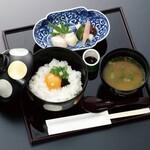 和食 花の茶屋 - 卵かけご飯 1300円(税込)