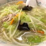 134971315 - タンメン 野菜系白湯がうまい
