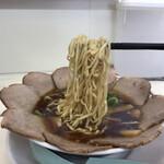 尾道ラーメン 丸ぼし - 麺リフトfromセンター