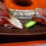 居酒屋 大黒 - 金華鯖の〆 680円 新鮮だけどちと酢が合わない