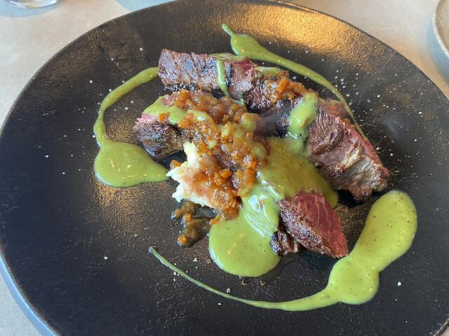 TROIS CUIT ASANUMAの料理の写真