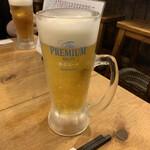 とんかつ 光 - 生ビール