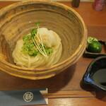 美糸 - 酢橘生醤油おうどん+大盛り
