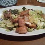 章 - 豚トロの野菜炒め