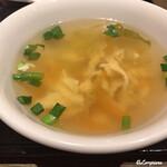 中国料理 空 - 蔬菜蛋花湯