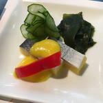 ホテル石庭 - 子持ちニシン:酢の物の塩梅が美味しい!