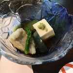 ホテル石庭 - 冷やし鉢:これも甘鯛?やっぱり出汁が好き!