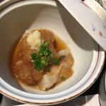ホテル石庭 - 甘鯛の揚げ煮びたし:これ大好き♡
