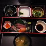楽蔵 - 刺身定食950円