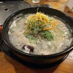 クッパヤ - 「参鶏湯(¥980税込)」