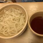 釜揚げうどん 一心 - 釜揚げうどん 大(細麺)