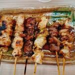 竹屋 - 盛り合わせ。全部美味しい‼️