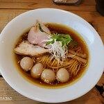 The Noodles & Saloon Kiriya - Kiri_soba+うずらの煮玉子