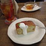 135125 - いちごとクリームチーズのベイクドケーキ