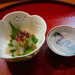 梨吉 - 甘鯛の昆布締め