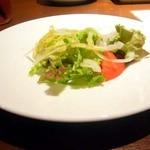 ラ・パウザ 小麦の家 - サラダ