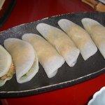 麺 玉響 刈谷店 - 大根餃子