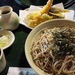 蕎香 - 料理写真:天ざる、中盛り!