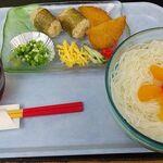 Kuukoushokudou - 日替わり定食(そーめん)