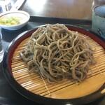 和田峠茶屋 - ざる蕎麦(だけどのりがない)