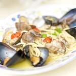 ナプレ - あさりとムール貝のパスタ