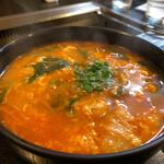 焼肉の店ゆたか - ユッケジャンスープ