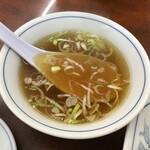 珍来 - チャーハンについてくるスープ(2020.8.9)