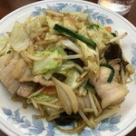 珍来 - 肉野菜炒め630円(2020.8.9)