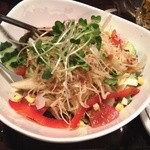 地鶏炭火焼 鳥亭 - 野菜サラダ