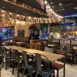 MEAT&WINE WINEHALL GLAMOUR - 店内
