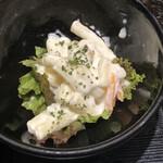 升屋 - 小鉢のマカロニサラダ