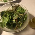 Yamazatoryouribudouya - 有機野菜のサラダ