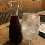 鉄鍋ビストロ&ワイン デリカージュ - サングリア カラフェ
