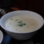 赤とんがらし - クリームスープ